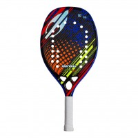 RAQUETE MORMAII BEACH TENNIS SUNSET PRO - AZUL/PRETO