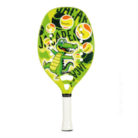 RAQUETE QUICKSAND BEACH TENNIS JACARE JR - VERDE