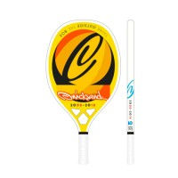 RAQUETE QUICKSAND BEACH TENNIS SPLASH YELLOW