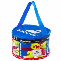 BOLA BABOLAT RED FELT BAG - 24 BOLAS