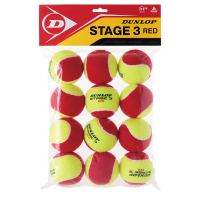BOLA DUNLOP STAGE 3 - 12 BOLAS