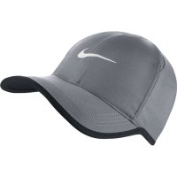 BONÉ NIKE FEATHER LIGHT UNISEX - CINZA/PRETO