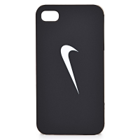 CAPA PARA IPHONE 4 NIKE GRAPHIC HARD CASE - BLACK/WHITE