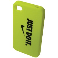 CAPA PARA IPHONE 4S NIKE GRAPHIC SOFT CASE - LIME