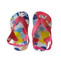 CHINELO PUKET BABY FUNDO DO MAR - BRANCO/ROSA