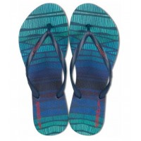 CHINELO SPEEDO LAYERS - AZUL/ROXO