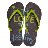 CHINELO PUKET IS THIS LOVE - MARINHO/VERDE