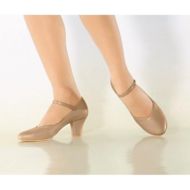 f4a7f0ff75 sapato para dança de salão capézio ref 40 - bege