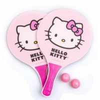 KIT FRESCOBOL HELLO KITTY - ROSA