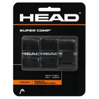 OVERGRIP HEAD SUPER COMP - PRETO