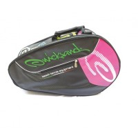 RAQUETEIRA QUICKSAND BEACH TENNIS EQUIPMENT - PRETO/PINK