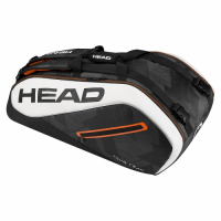 RAQUETEIRA HEAD TOUR TEAM X9 - PRETO/BRANCO