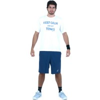 CAMISETA BABOLAT KEEP CALM - BRANCO