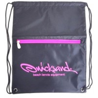 BEACH BAG QUICKSAND - PRETO/ROSA