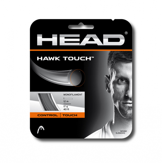 SET DE CORDA HEAD HAWK TOUCH 1.25 - CINZA