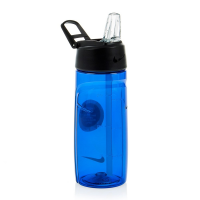 GARRAFA NIKE T1 FLOW WATER BOTTLE 375 ML - AZUL