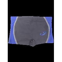 SUNGA HAMMERHEAD INFANTIL BOXER XL C/ DETALHE - GRAFITE/AZUL