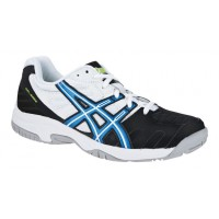 TÊNIS ASICS GEL GAME 4 JR - BLACK/ROYAL BLUE/WHITE
