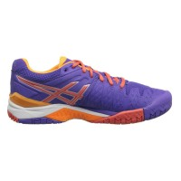 TÊNIS ASICS GEL RESOLUTION 6 - LAVENDER/HOT CORAL/NECTARINE