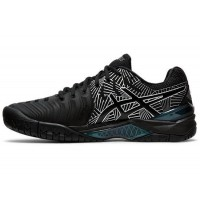 TÊNIS ASICS GEL-RESOLUTION 7 L.E. - BLACK/SILVER