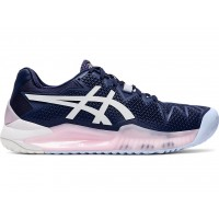 TÊNIS ASICS GEL RESOLUTION 8 - PEACOAT/WHITE
