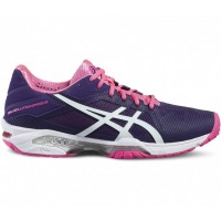 TÊNIS ASICS GEL SOLUTION SPEED 3 - PARACHUTE PURPLE/WHITE/HOT PINK