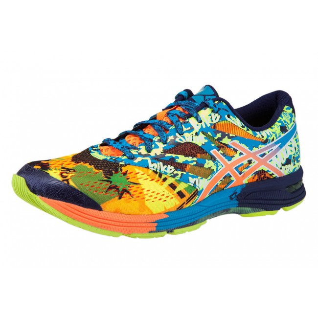 TÊNIS ASICS GEL - NOOSA TRI 10 ORANGE   BLUE DANUBE  HOT ORANGE 33b20a2af5345