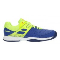 TÊNIS BABOLAT PULSION ALL COURT JR - BLUE/FLUO AERO