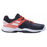 TÊNIS BABOLAT PULSION ALL COURT - BLACK/FLUO STRIKE