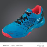 TÊNIS YONEX POWER CUSHION LUMIO2 - BLUE/RED