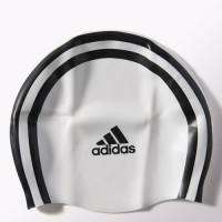 TOUCA ADIDAS SILICONE SWIMMING CAP - BRANCO