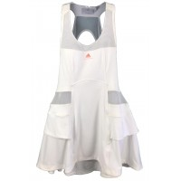 VESTIDO ADIDAS W BARRICADE DRESS WIMBLENDON - WHITE