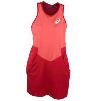 VESTIDO ASICS W TENNIS DRESS - HIBISCUS
