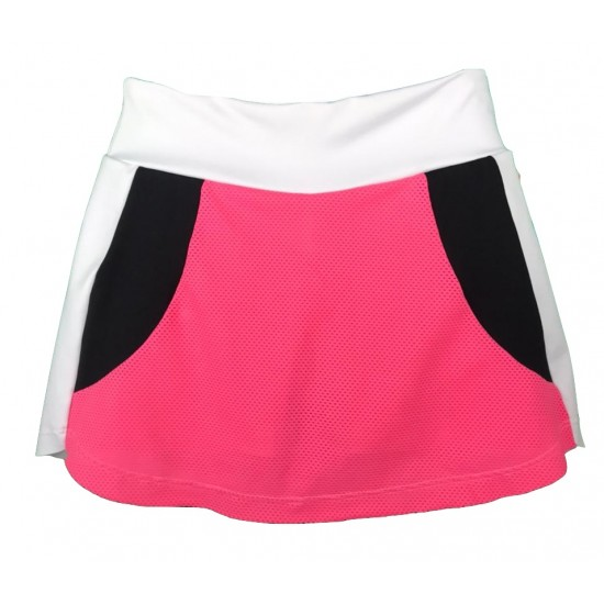 SAIA SHORTS TRINYS - WHITE/BUBBLEGUM/BLACK