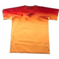 CAMISETA ADIDAS ADIZERO - SOGOLD/ORANGE