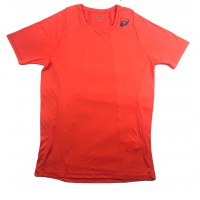 CAMISETA ASICS M TENNIS PA SS - ORANGE