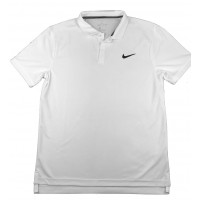 CAMISA NIKE POLO COURT TEAM - BRANCA