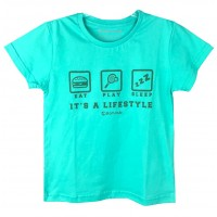 CAMISETA SLAMCLUB IT´S A LIFESTYLE - VERDE
