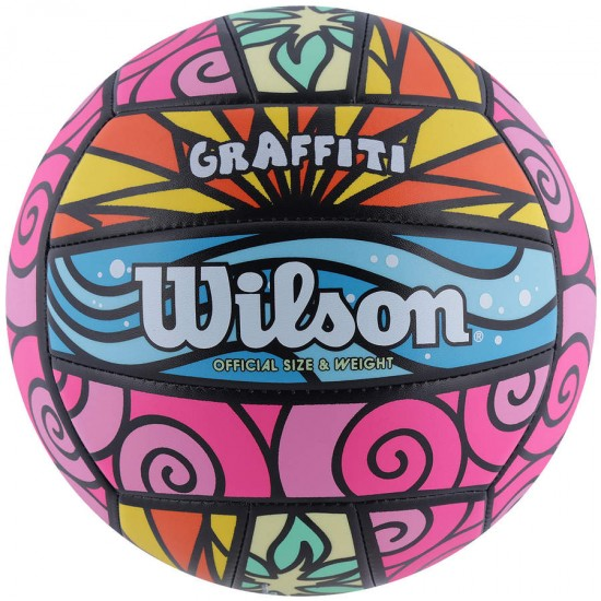 BOLA VOLEI WILSON GRAFFITI