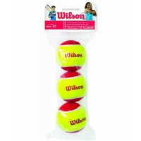 BOLA WILSON STARTER RED - 3 BOLAS