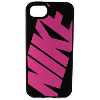CAPA PARA IPHONE 5 NIKE CLASSIC - BLACK/PINK