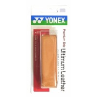 CUSHION GRIP YONEX PREMIUM ULTIMUM LEATHER - COURO NATURAL
