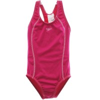 MAIÔ INFANTIL SPEEDO ACQUA BASIC - ROSA SHOCK