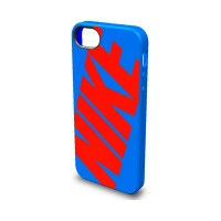 CAPA PARA IPHONE 5 NIKE CLASSIC - SIGNAL BLUE/RED